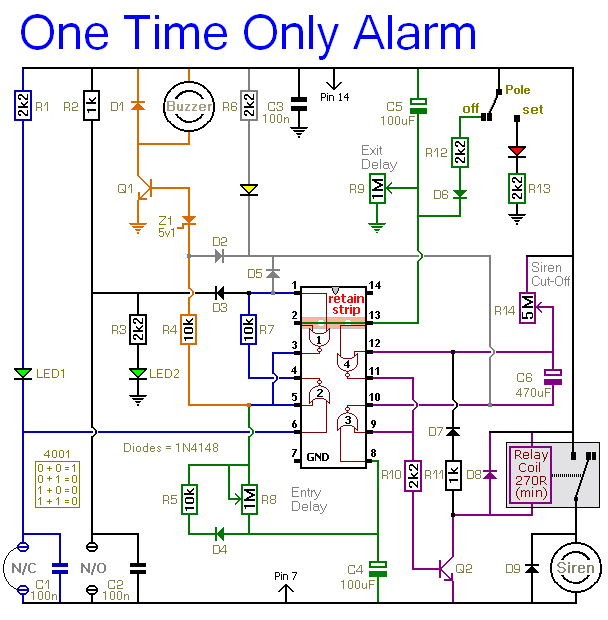 How To Build A One-time-only Burglar Alarm