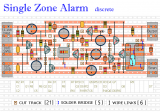 A Transistor Based Single Zone Alarm