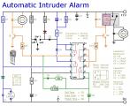 A Simpler Cmos Single Zone Alarm