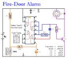 A Simple Fire-Door Alarm
