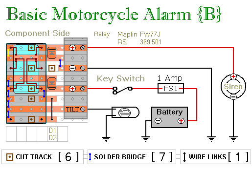How To Build Two Simple Relay Based Motorcycle Alarms