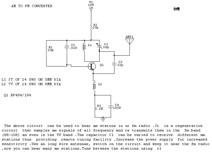 How To Build Am To Fm Converter