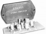 Amplifier 2x30W with STK465