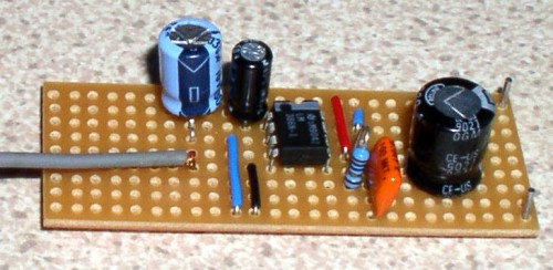 Bench Amplifier-The finished circuit
