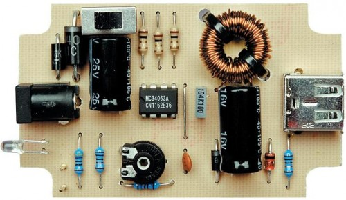 How To Build Mobile Phone And Ipod Battery Charger Circuit Circuit