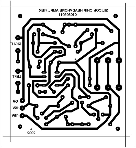 how to build stereo headphone amplifier circuit schematic