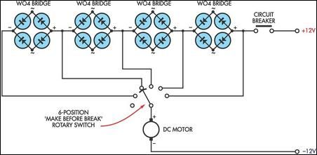 How to build dc motor speed controller circuit diagram for How to build a motor controller