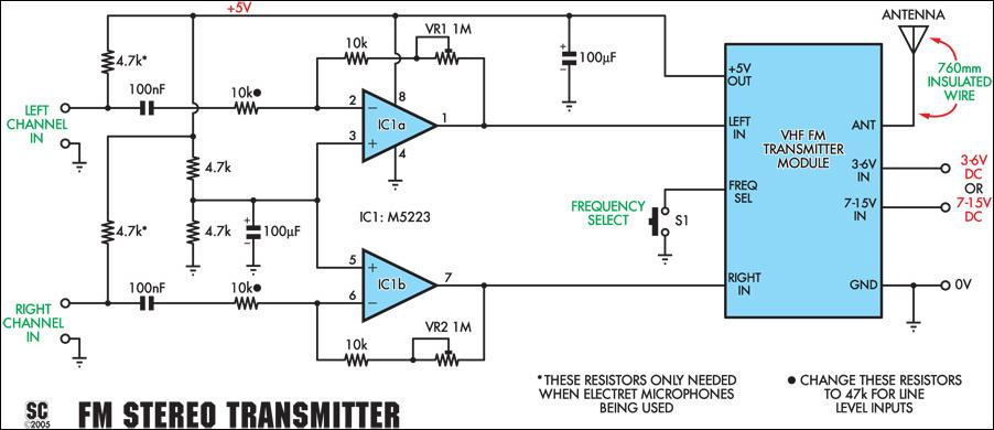 Radio Circuits Blog  How To Build Quality Stereo Wireless