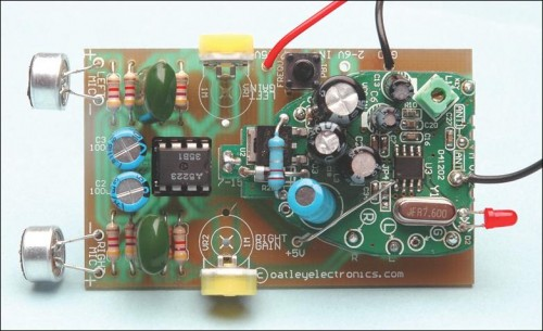 Quality Stereo Wireless Microphone or Audio Link pcb 2