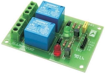 How To Build Dual Relay Driver Board Circuit Schematic